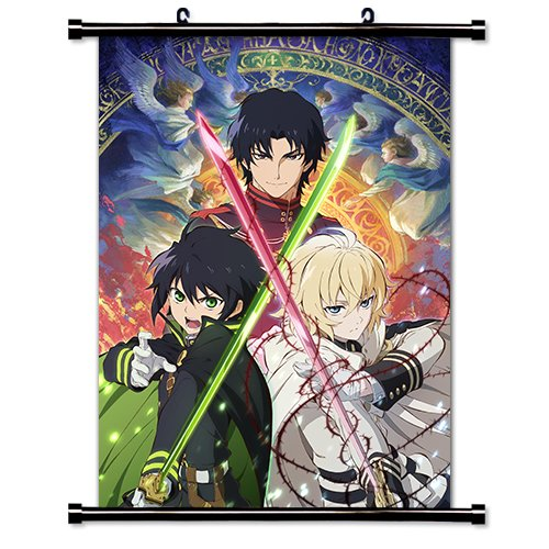 Seraph of the End (Owari no Seraph) Anime Fabric Wall Scroll Poster (16x23) Inches