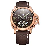 North King Quartz Watches Men's Watch Sports Watch Automatic Mechanical Watch Date Display (Color: A)