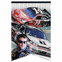 NASCAR Tony Stewart 17-by-26 Premium Felt Banner by WinCraft