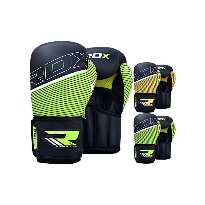RDX Pelle Sintetico Boxe Guantoni Guanti da Sacco Allenamento Muay Thai Combattimento kickboxing Pugilato F7: prezzi, offerte vendita online