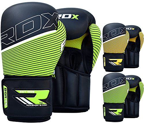 RDX-Maya-Hide-Leather-Boxing-Gloves-Punching-Bag-Glove-Sparring-Training-Mitts-Muay-Thai-F6