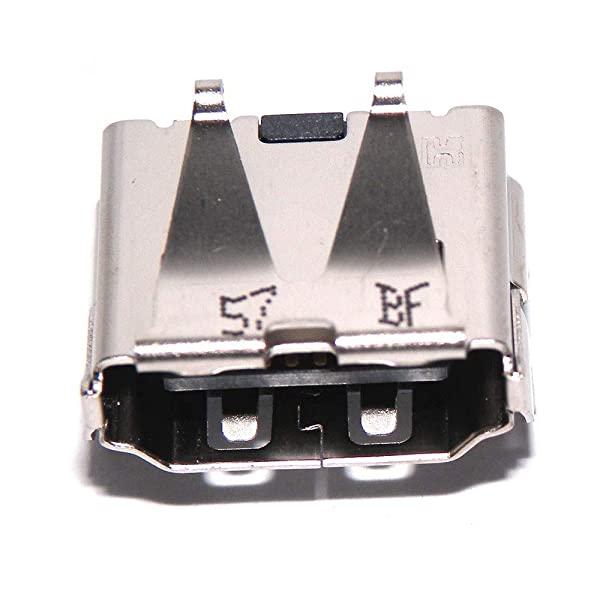 Eieshupug HDMI Port Socket Interface Connector Plug Repair Part for Playstation 3 PS3 Super Slim CECH-4000