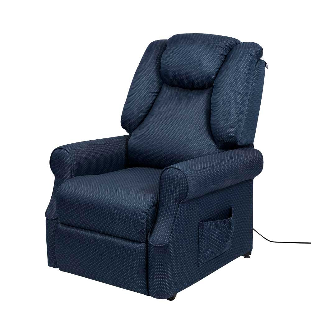 TV Sessel mit Motor Blau Pharao24
