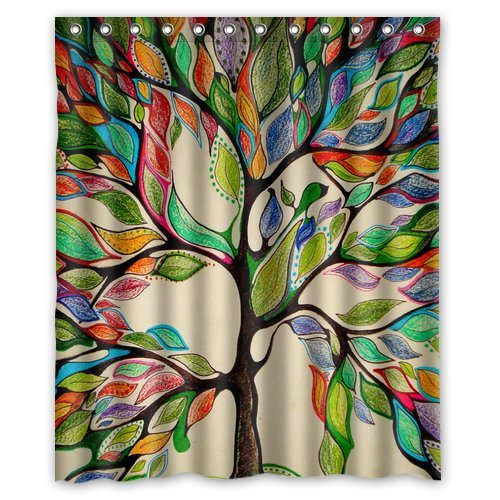 Tie Top Curtain Panels Sacred Geometry Curt