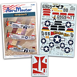 P-47 Thunderbolt: Best Sellers 3: Nose Art (1/48 decals)