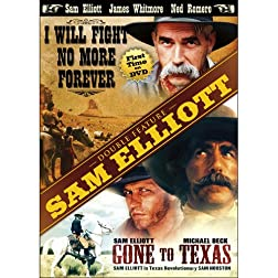 Sam Elliott Double Feature: I Will Fight No More Forever / Gone to Texas