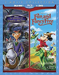 The Adventures of Ichabod and Mr. Toad + Fun and Fancy Free 2-Movie Collection [Blu-ray]