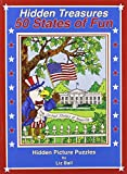 50 States of Fun - Hidden Treasures: Hidden Picture Puzzles (0984308814) by Ball, Liz