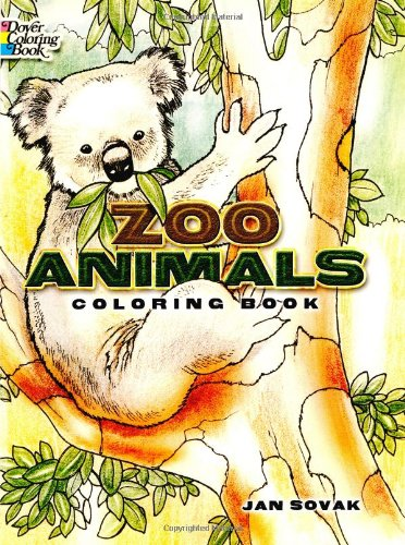 Zoo Animals Colouring Book (Dover Coloring Books)