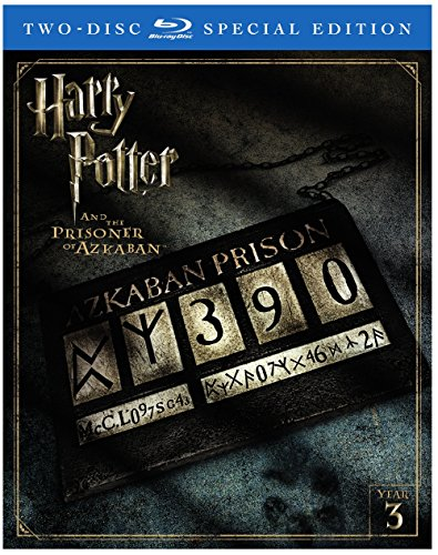 Blu-ray : Harry Potter and the Prisoner of Azkaban (Special Edition, Ultraviolet Digital Copy, 2 Pack, Digitally Mastered in HD, 2 Disc)