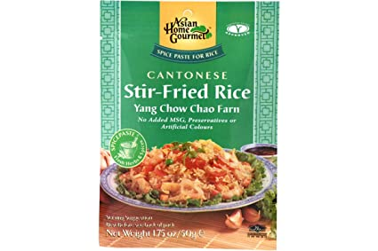 Seasoned Instant Rice Rice Instant Yang Chow