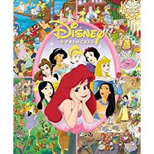 Look and Find: Disney Princess (Look and Find (Publications International))