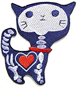 Tatoo Patch Sew Iron on Embroidered Sign Badge Costume Clothing: Arts