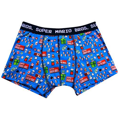 SUPER MARIO BROS boxer briefs dot BL L BDMR139