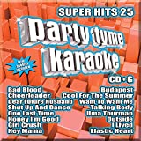 Party Tyme Karaoke - Super Hits 25 [16-song CD+G]