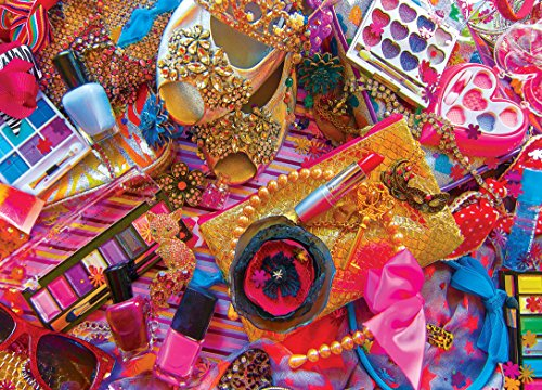 Masterpieces Glamour & Glitz Colorize! Jigsaw Puzzle (1000-Piece)