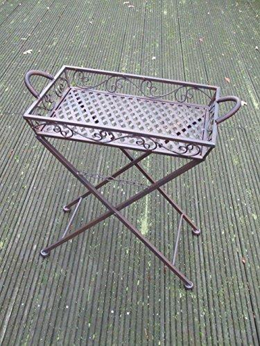 Klapptisch-Tablett-Tisch-abnehmbar-Beistelltisch-Ablagetisch-Eisen