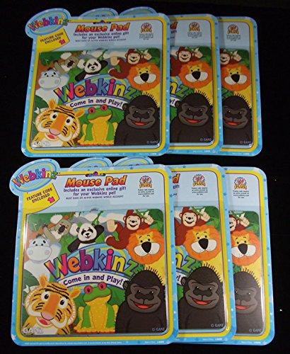 lot-of-6-webkinz-pet-mouse-computer-pads-nip-by-ganz
