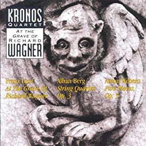 NEW Kronos Quartet - At The Grave Of Richard Wagner (CD)