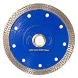 Meacase 4-1/2 inch Super Thin Diamond Tile Saw Blade for Porcelain Ceramic Tiles Granite Marble with 7/8