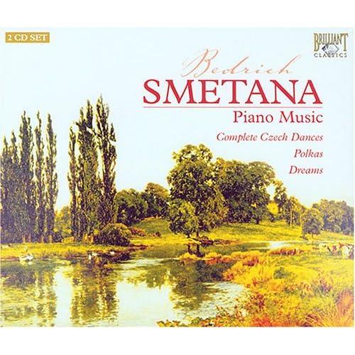 Bedrih Smetana   Piano Music (Peter Schmalfuss), Polka Reves (Dreams) Czech Dances Lossless Flac C preview 0