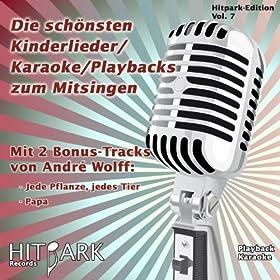 Hitpark Edition, Vol. 7 (Die sch�nsten Kinderlieder, Karaoke, Playbacks zum Mitsingen)