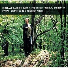 輸入盤CD ニコラウス・アーノンクール指揮/ロイヤル・コンセルトヘボウ管弦楽団 ドヴォルザーク:交響曲第8番&交響詩《真昼の魔女》のAmazonの商品頁を開く