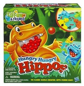 Hasbro Hungry Hungry Hippos - Hipopótamos hambrientos (juego de mesa)