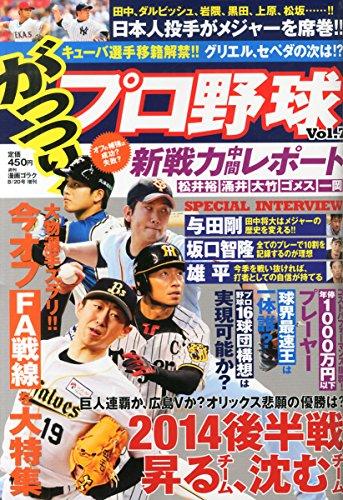 がっつり!プロ野球 Vol.7 2014年 8/20号 [雑誌]