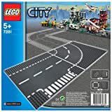 Toy - LEGO City 7281 - Kurve/T-Kreuzung