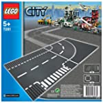 LEGO City 7281: Curve & T-Junction