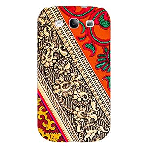 Jugaaduu Floral Pattern Back Cover Case For Samsung Galaxy S3