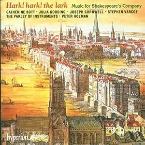 """Baroque Music for Shakespeare's Company """"Hark! hark! the lark """" / Holman"""