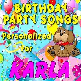 Amazon.com: Happy Birthday to Karla (Carla): Personalized Kid Music
