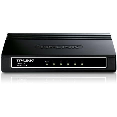 TP-LINK TL-SG1005D Switch 5 Ports Gigabit (Bureau, Boîtier Plastique)