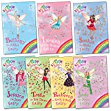 Rainbow Magic Dance Fairies Pack, 7 books, RRP £27.93 (Bethany the Ballet Fairy, Imogen the Ice Dance Fairy, Jade the Disco Fairy, Jessica the Jazz Fairy, Rebecca the Rock n' Roll Fairy, Saskia the Salsa Fairy, Tasha the Tap Dance Fairy). (Rainbow Magic)