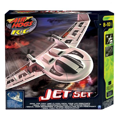 Deals Air Hogs Jet Set 2 - White Eagle Ray
