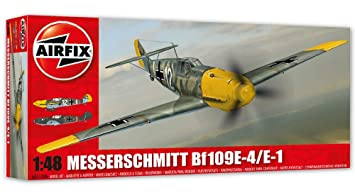 Airfix - Ai05120a - Maquette - Aviation - Messerschmitt Bf109e-4/e-1 - Echelle 1/48