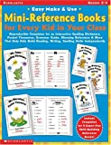 img - for Easy Make & Use Mini-Reference Books for Every Kid in Your Class: Reproducible Templates for an Interactive Spelling Dictionary, Pocket Thesaurus, ... Writing, and Spelling Skills Independently book / textbook / text book