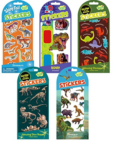 Peaceable Kingdom Dinosaur Sticker Party Assortment