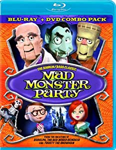 Mad Monster Party Combo Pack BD + DVD [Blu-ray]