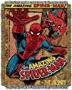 Marvel, Spiderman, Vintage Spiderman 48-Inch-by-60-Inch Acrylic Tapestry Throw by The Northwest…