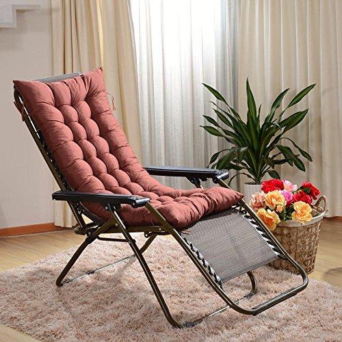 New day-Reclinabile cuscini sedia a dondolo cuscini cuscini cuscino più spessa speciale biadesivo divano cuscini , 125*48 , fashion coffee