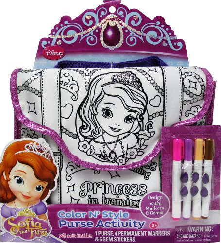 Tara Toy Sofia Color N Style Purse