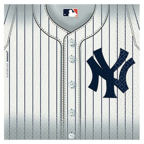 MLB New York Yankees Lunch Napkins (36ct)