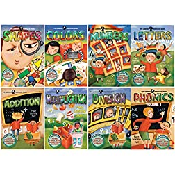 The Learning Treehouse - 6 Hours of Learning Fun! - 8 DVD Collection
