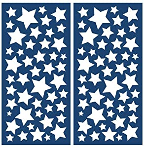 Brewster Crearreda CR-77223 Stars Glow in the Dark Decals at Sears.com