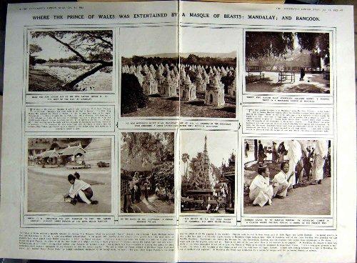 BUDDISMO 1922 DI MANDALAY RANGOON LILLIAN GISH LUCKNOW