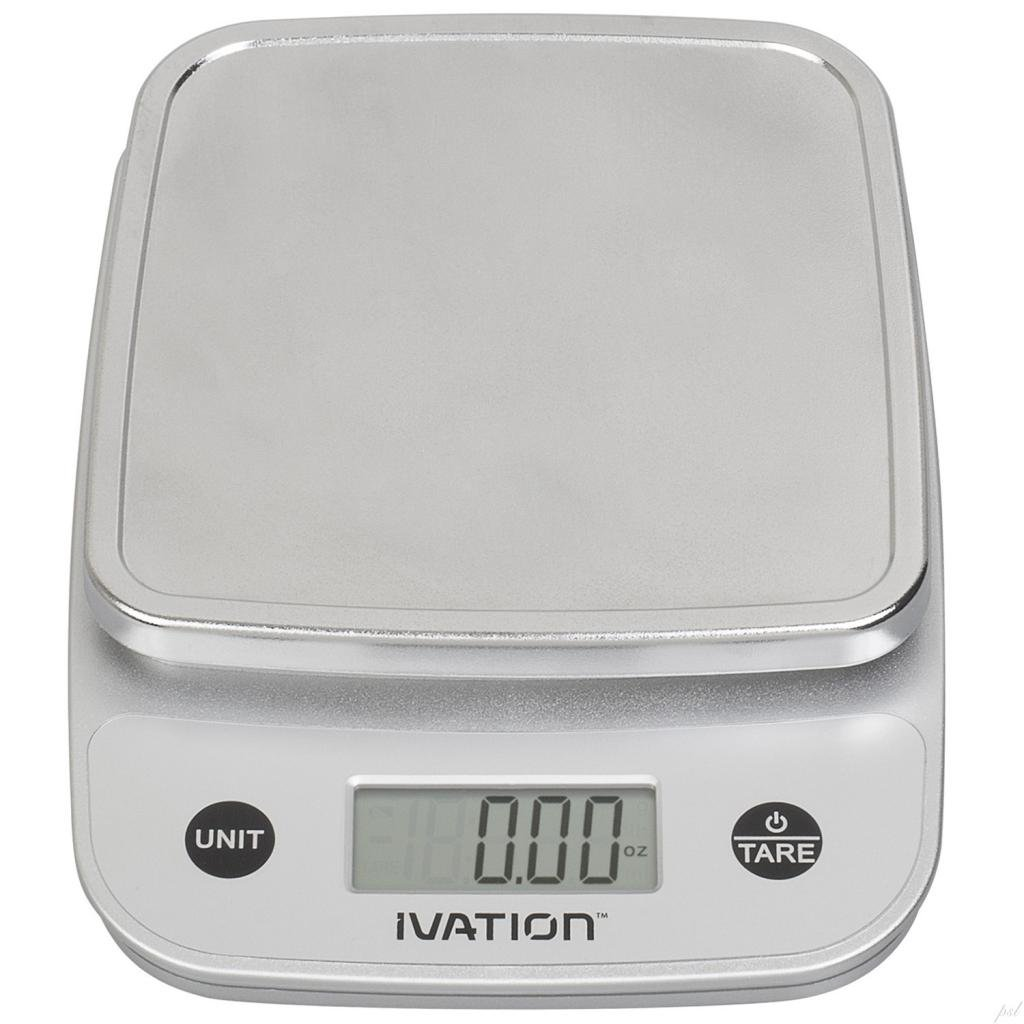 Digital Kitchen Scale: Ivation Lightweight Digital Kitchen Scale