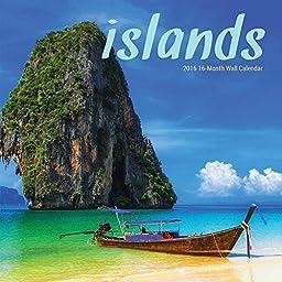 Islands 2016 Mini Wall Calendar by Leap Year Publishing by LEAPYEAR